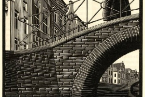 65/3724   [Escher, M.C. (1898-1972)]. Walch, J.